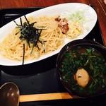 もちもちの木 - つけ麺・小200g(¥780)