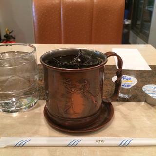 コーヒーショップ モンテス - 天空アイスコーヒー。 税込430円。 美味し。