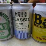 圓環邊蚵仔煎 - ビールなどはそばのコンビニで買って持ち込み