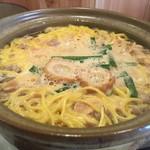 谷口食堂 - 鍋焼きラーメン