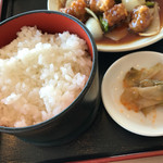 天津飯店 - ご飯