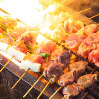 鮮度抜群!赤鶏さつま、博多一番どりなど厳選した鶏を使用‼