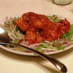 仙豆飯店 - 大海老チリソース煮
