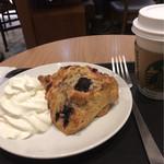 Sutabakkusukohi - スコーン&ホイップ&コーヒー