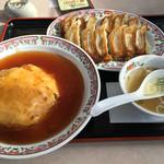 餃子の王将 - サービスランチ780円→741円