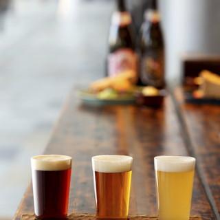 定番ものからひと味違ったものまで!多数クラフトビールをご用意