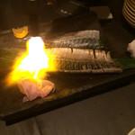 チョップスティックカフェ汁べゑ - 炙りしめ鯖
