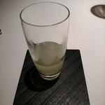 ヴァリノール - 食前の柚子と生姜のジュース