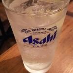 せをりぃ - サワー(生搾りレモン)500円