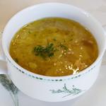 61325652 - 有機キャベツとパンチェッタのスープ