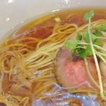 はざま - 中華そば(醤油)細麺