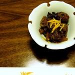 かき豊 - 料理写真:牡蠣醬油煮