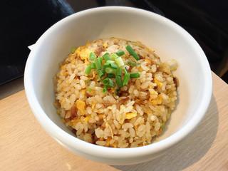 ラーメン 福栄 - ミニ炒飯 ラード香ばしく