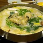 かき豊 - 牡蠣鍋