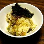 かき豊 - 牡蠣の炊き込みご飯