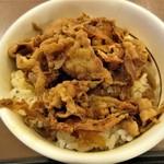 すき家 - ミニ牛丼