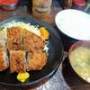 とんかつ まりも - 料理写真:海老入りメンチカツ定食\750(17-01)