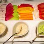 61329582 - 横浜野菜のバーニャプレート