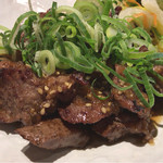 61329790 - タレ漬け牛タン焼き定食