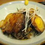 昭和亭食堂 - 角煮セット590円