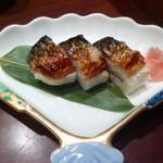 麺酒房 文楽 - 焼き鯖寿し