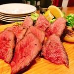 マカロニ - 『熟成肉のビステッカ・アッラ』様(250g/2500円)