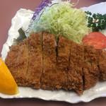 福よし - 上州麦豚特選厚切りロースかつ定食