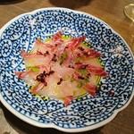Yompachigyojou - 鮮魚のカルパッチョ