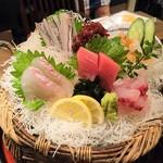 Yompachigyojou - 漁師の刺し盛り(中)