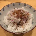 饗 くろ喜 - 「鮎肝あぶら飯」200円