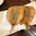魚喰 - 小さなアジフライ