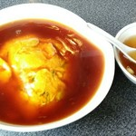 萬々亭 - 「天津飯」730円+税