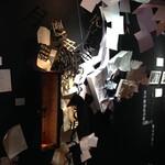 カフェギャラリー幻 - 文芸展「ことばの国の猫さがし」