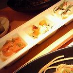 こなな 阪急三番街店 - 豆腐セットの豆腐