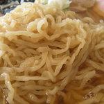 米沢ラーメン すえひろ - 細ちぢれ麺