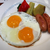 リッチモンドホテル - 料理写真:フライエッグ朝食