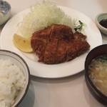61342043 - 豚カツ定食