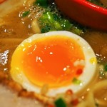 This is 中川 - チャーシュー麺【ホワイト中川Ver】(煮玉子)