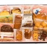 ミルティーユ - 箱詰め焼菓子もあります