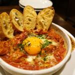 テルツォ - トリッパのピリ辛トマト煮込み