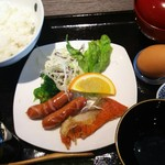 食堂カフェ COCO家 - 玉子かけご飯    500円
