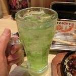 八五郎 - マスカットサワー280円+税