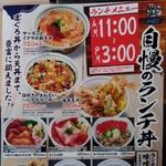 目利きの銀次 - 【2017.1.17(火)】メニュー