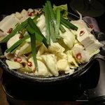 坐・和民 - モツ鍋
