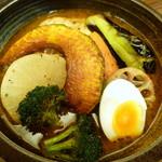 61350770 - 季節野菜チキンスープカレー