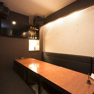 周りを気にせず食事を楽しめる、完全個室をご用意!
