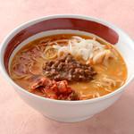 ラーメン尊 - 淡路玉ねぎ担々麺(キムチ入り)