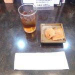 じゃんじゃん亭 - 料理写真:お茶とおとおし