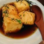 つばくらめ - 揚げ出し豆腐