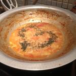 もつ鍋 亀八 - トマトチーズリゾット
